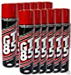 GT85 X 12 Cans PTFE Chain Lubricant GT 85 Water Displacer 400ml