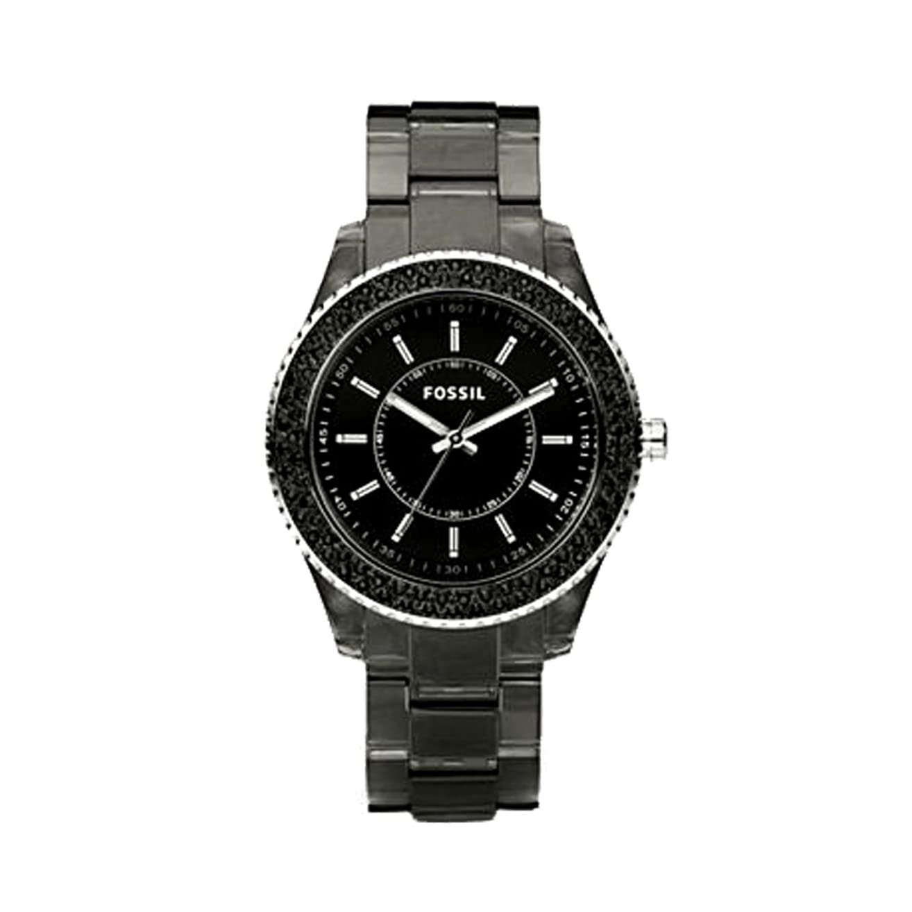 s watches fossil s es2454 black resin