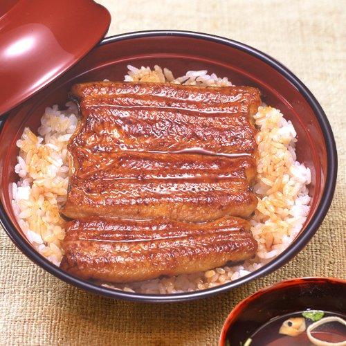 【父の日】送料込 うなぎ串蒲焼と肝吸いセット