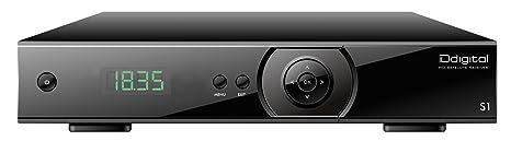 IDDIGITAL S1 COMFORT HDTV SAT RECEIVER SCHWARZ