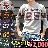 Champion 7分袖フットボールTシャツ(C3-V409-S)