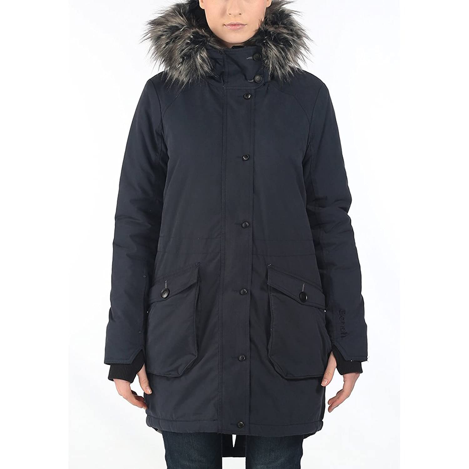 Bench Damen Jacke Parka Wolfish II