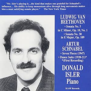 Pianist Donald Isler Plays Music of Beethoven & Sc