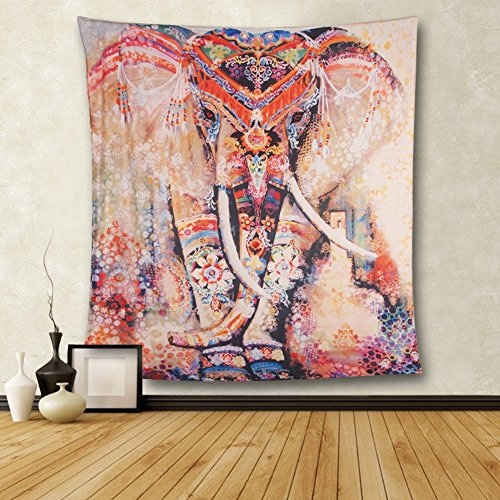 CHICVITA-Elephant-Print-Wall-Hanging-Tapestry-Bohemian-Room-Decor-Bedding-Rug