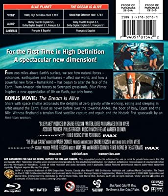 IMAX: Blue Planet [Blu-ray]