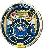 セイコークロック Disney (ディズニータイム) 掛け時計 ミッキー&フレンズ 電波時計 ツイン・パ FW542L