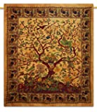 Tree Of Life Tapestry Bed Sheets Wall Hanging Indian Hippie Cotton Tapestries...