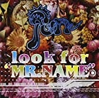"look for""MR.NAME""BLUE-TYPE(DVD付)(在庫あり。)"