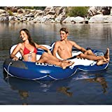 "Intex River Run II Sport Lounge, Inflatable Water Float, 95.5  "" X 62"""