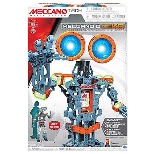 タカラトミーが人型の組み立て式ロボット「MECCANOID」発表 →