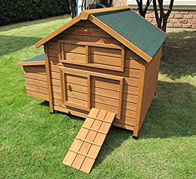 Chicken Coops Imperial® Savoy Large Chicken Coop Single Nest Box Suitable For Up to 4 to 6 Birds Depending On Size