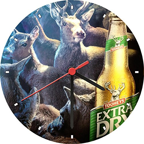 tooheys-extra-dry-bottle-nocturnal-migration-wall-clock