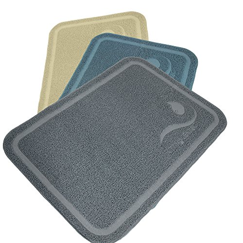Kittycentric Cat Litter Mat with Premium Scatter Control Protection - Extra Large, 35.4