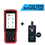 LAUNCH CRP429 All System OBD2 Diagnostic Scan Tool with Oil Reset EPB BMS SAS DPF Injector Coding and IMMO + TPMS Activation Tool Gift (Tamaño: CRP429)