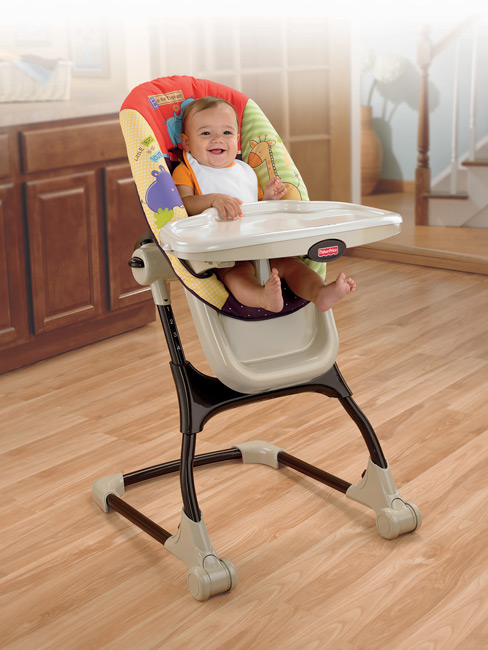 Amazon Com Fisher Price Luv U Zoo Ez Clean High Chair