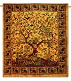 Tree Of Life Tapestry Beach Blanket Bohemian Tapestries Wall Cotton Tapestry ...