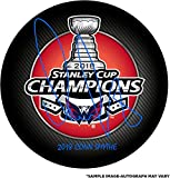 Alex Ovechkin Washington Capitals 2018 Stanley Cup Champions Autographed Stanley Cup Champions Logo Hockey Puck with 2018 Conn Smythe Inscription - Fanatics Authentic Certified