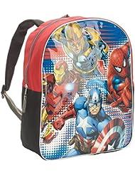 "Marvel Heroes 14"" Backpack - Captain America, Iron Man, Spiderman"