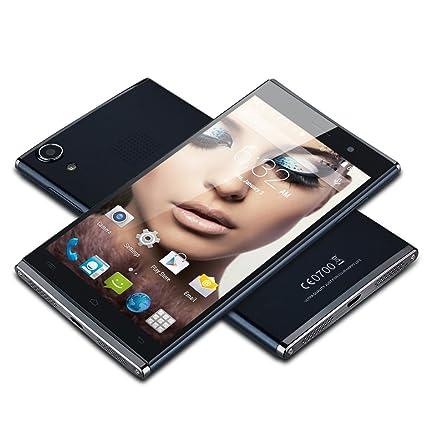 UHAPPY 920 Belle forme 3G Smartphone 5,5 Pouce IPS FHD 480DPI Ecran 2Go RAM 16Go ROM Grande mémoire Octa core MTK6592 Android 4.4 Kitkat Dual SIM 18MP et 8MP caméra soutenir Bright flash Gesture control WIFI GPS Bluetooth OTG fonction compat