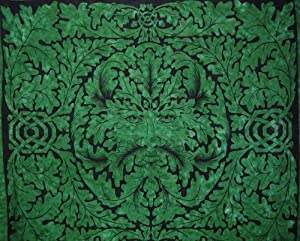 Greenman Tapestry-Celtic Mythology-Bedspread-Wall