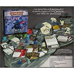 Dungeons and Dragons: Castle Ravenloft Board Game Components