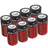 CR123A Rechargeable Batteries, EaseBuy 8-Pack 700mAH RCR123A 3.7V Lithium ion Camera Battery Compatible with Arlo Cameras, Security System, Led Flashlight (Tamaño: 8-Pack)