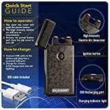 70 OFF end soon, Hurry, Best 2016 USB plazmatic Electric Rechargeable Arc Lighter, Enji Prime, spark At The Push Of a Button, Flameless, Windproof, Eco Friendly & Energy Saving, Electronic Cigarette