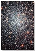 Globular Cluster NGC 1783 (For the Love of Space): Blank 150 page lined journal for your thoughts, ideas, and inspiration