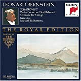 Tchaikovsky: Violin Concerto (First Release) / Serenade for Strings (Bernstein Royal Edition No. 95)