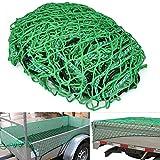 Yahee Transportnetz Anhängernetz 2 x 3m Sicherungsnetz Abdecknetz zur Ladungssicherung