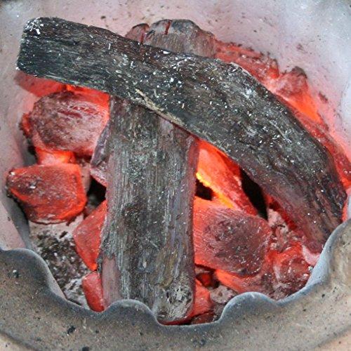 炭焼名人 阪本保喜の 紀州備長炭 特上 BBQ バーベキュー 用 (1kg) ウバメガシ 最高級 白炭