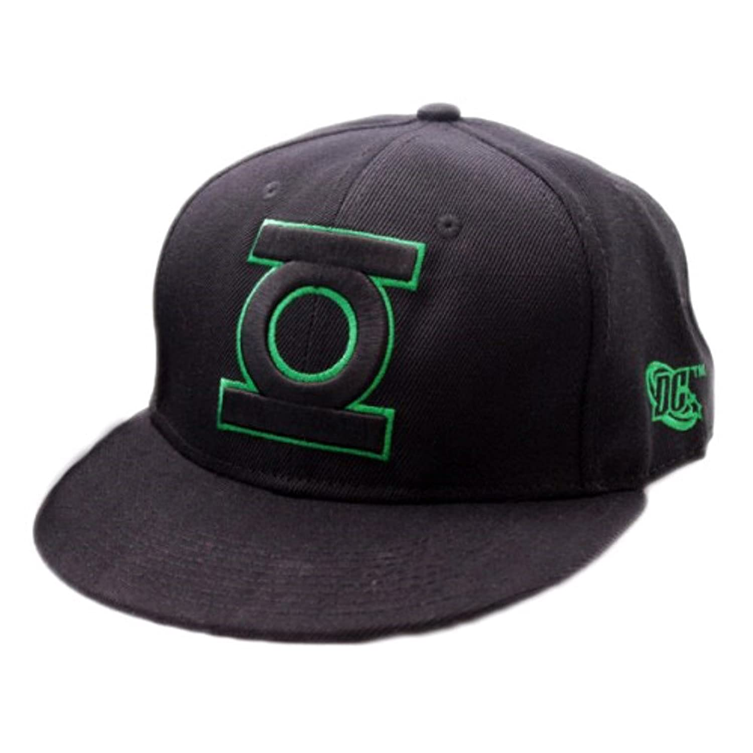 Official Green Lantern Logo Snapback Black Baseball Cap Hat 2017 black white new york baseball cap bone snapback cap brand baseball cap gorras new york black hats for men casquette hat wo