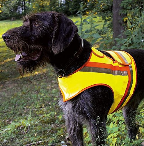 Artikelbild: HUNDE-SIGNALWESTE Reflektorweste Hunde-Warnweste AKAH große Hunde