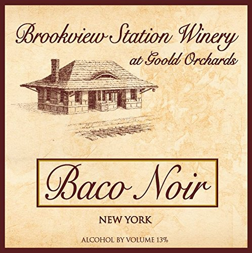 Nv Brookview Station Baco Noir 750 Ml