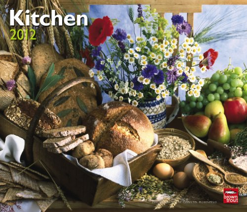 Kitchen 2012 Deluxe Wall Calendar (Multilingual Edition)