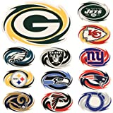 NFL Home / Car Large Sports Magnet (Measures 11