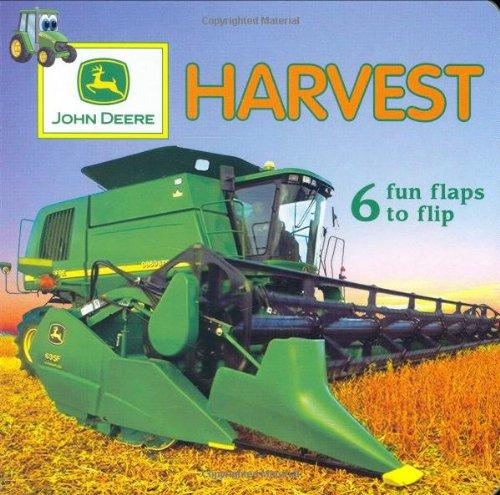 John Deere: Fun Flaps: Harvest (John Deere (Dk Hardcover))