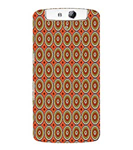 Abstract Painting 3D Hard Polycarbonate Designer Back Case Cover for Oppo N1