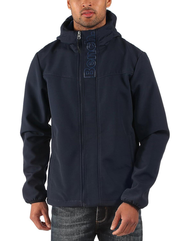 BENCH Raft B Jacket Zip Jacket Herren Kapuzen Jacke blau Fleece NEU
