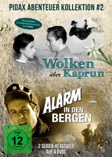 Pidax Abenteuer Kollektion: Wolken über Kaprun + Alarm in den Bergen [4 DVDs]