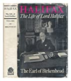 img - for Halifax: The Life of Lord Halifax. book / textbook / text book