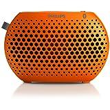 Altavoz PHILIPS SBT10ORG  Bluetooth Inalámbrico portable<br> música en cualquier lugar (Naranja)