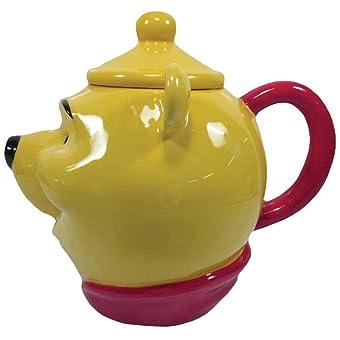 Westland Giftware 8.75-Inch Ceramic Teapot 40-Ounce Disney Winnie the Pooh