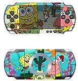 Spongebob Vinyl Decal Skin Sticker for Sony PSP 1000
