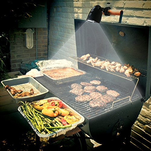 Culinary King LED Barbecue Grill Light - Fully-Adjustable, All-Weather, 50,000 Hour Lifespan, Lifetime Guarantee (Ceramic Barbecue Grill compare prices)