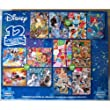 Disney Family Puzzle Pack - 12 Puzzles