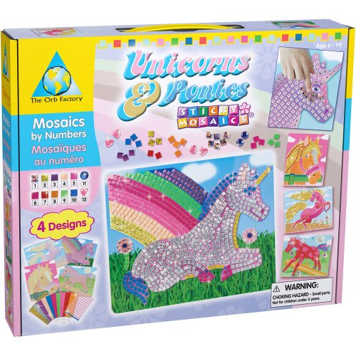 Orb Factory Sticky Mosaics: Unicorns and Ponies