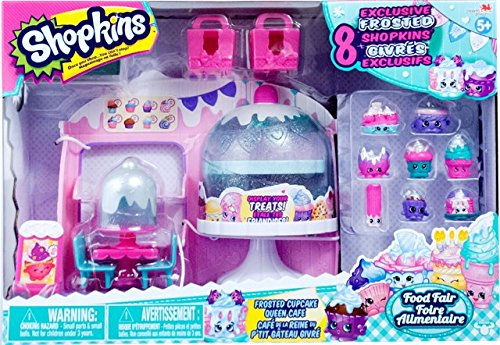 Shopkins Frosted Cupcake Queen Cafe