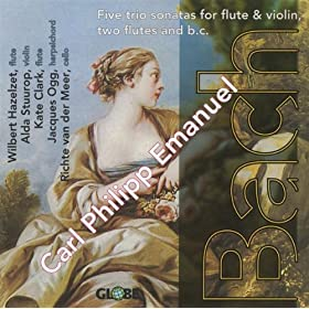 Carl Philipp Emanuel Bach, Five Trio Sonatas