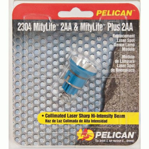 Pelican 2304 Xenon Replacement Lamp For 2300 Flashlight